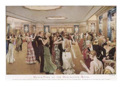 Dance-Time at the Dorchester Hotel--Giclee Print