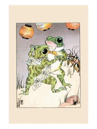 Dance With Billy Bullfrog-Frances Beem-Art Print