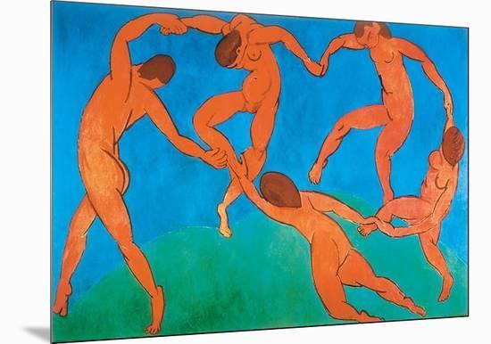 Dance-Henri Matisse-Mounted Art Print