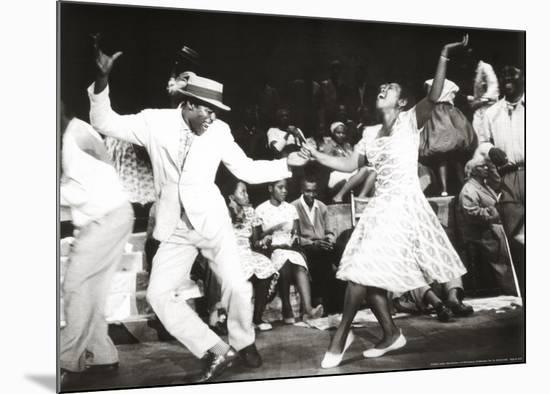 Dance-David Bailey-Mounted Print