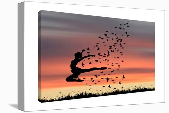 Dance-Dominic Liam-Gallery Wrapped Canvas