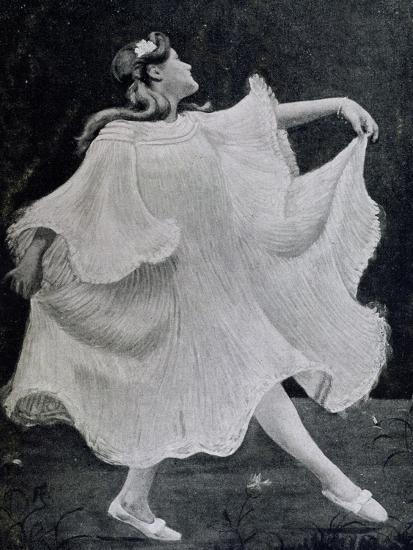 Dancer, 1905--Giclee Print