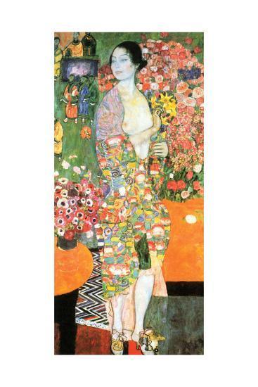Dancer, 1916-Gustav Klimt-Giclee Print