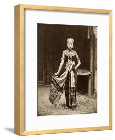 Dancer at the Javanese Village, Exposition Universelle, Paris, 1889