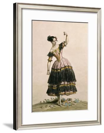 Dancer Fanny Elssler--Framed Giclee Print
