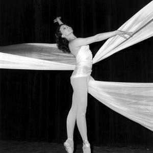 "Dancer Muriel Belmondo on Stage for the Ballet ""Balletti"", Paris, 23 May 1967"