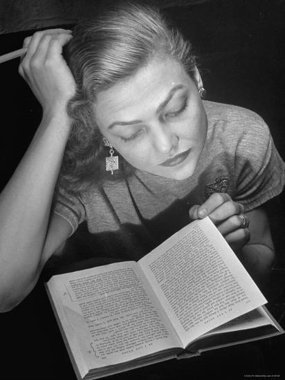 Dancer Valerie Bettis interprets William Faulkner's Novel as I Lay Dying into ballet-Nina Leen-Premium Photographic Print