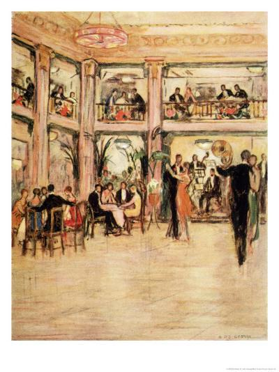 Dancers and Diners at the Kit- Kat Club in the Haymarket London-Dorothea St. John George-Giclee Print
