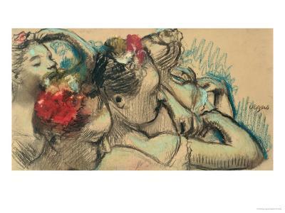 Dancers, circa 1896-8-Edgar Degas-Giclee Print