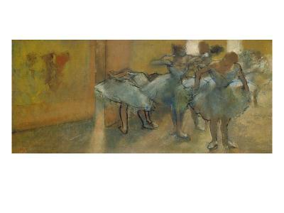 Dancers in the Foyer, about 1889-Edgar Degas-Giclee Print