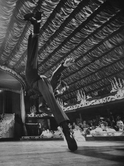 Dancers Performing at the Latin Quarter Night Club-Yale Joel-Photographic Print