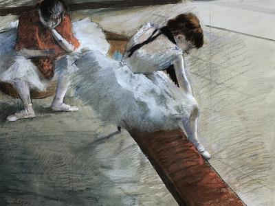 Dancers Resting-Edgar Degas-Giclee Print