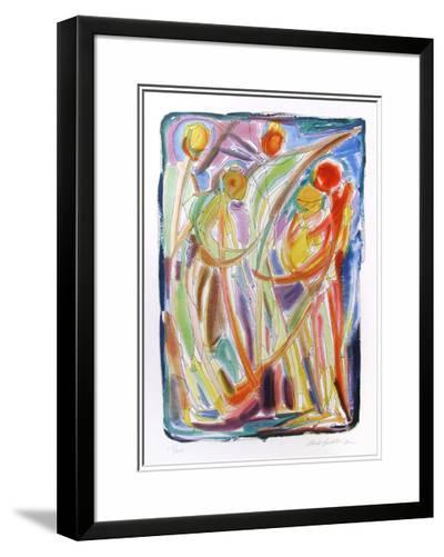 Dancers-Chaim Goldberg-Limited Edition Framed Print