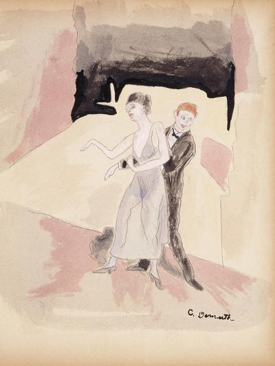 Dancers-Charles Demuth-Giclee Print
