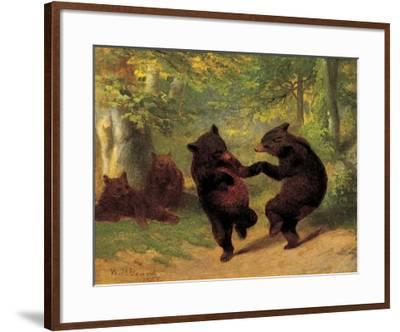 Dancing Bears-William Holbrook Beard-Framed Art Print