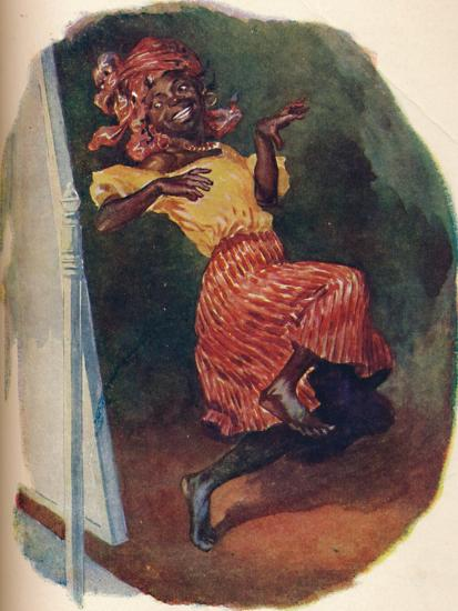 'Dancing before the glass in great style', 1929-Unknown-Giclee Print