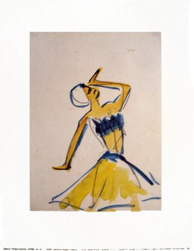 Dancing, c.1910-11-Ernst Ludwig Kirchner-Art Print