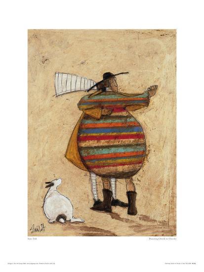 Dancing Cheek To Cheeky-Sam Toft-Giclee Print