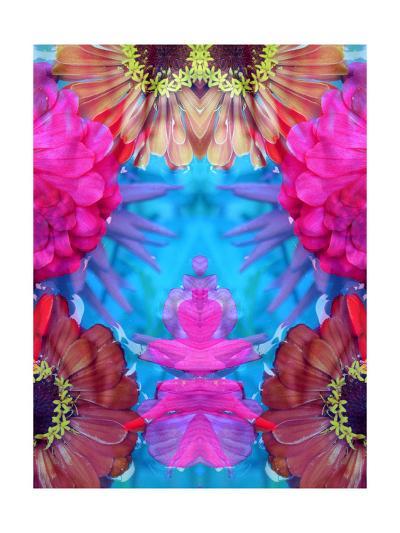 Dancing Color Ornament-Alaya Gadeh-Art Print