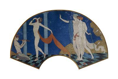 Dancing Figures on a Terrace, 1911-Georges Barbier-Giclee Print