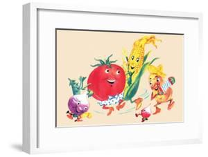 Dancing Happy Vegetables
