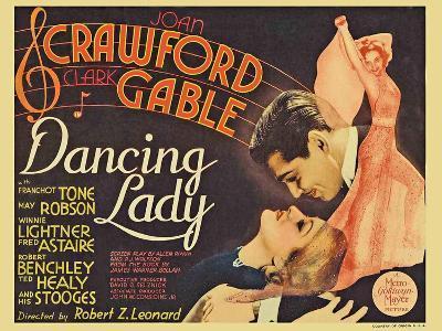 Dancing Lady, 1933--Art Print