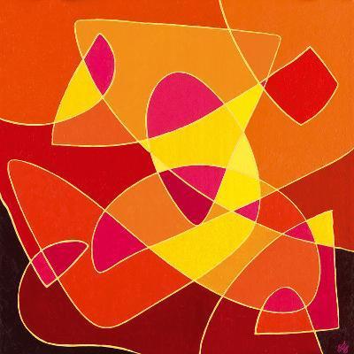 Dancing Light-Vesna Milinkovic-Giclee Print
