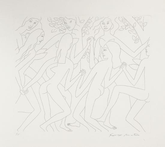 Dancing Nudes - I-Knox Martin-Limited Edition
