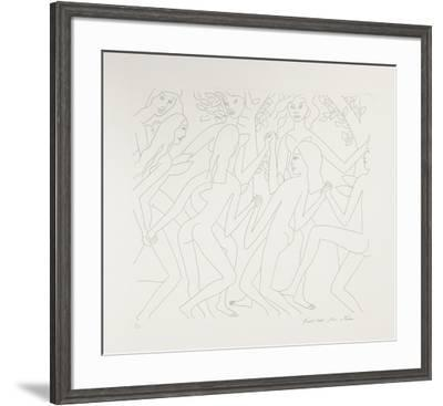 Dancing Nudes - I-Knox Martin-Framed Limited Edition