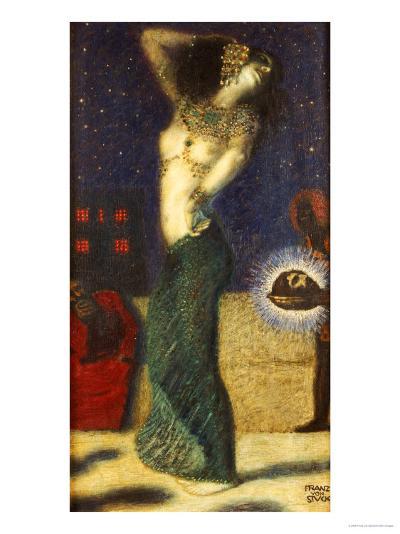 Dancing Salome-Franz von Stuck-Giclee Print