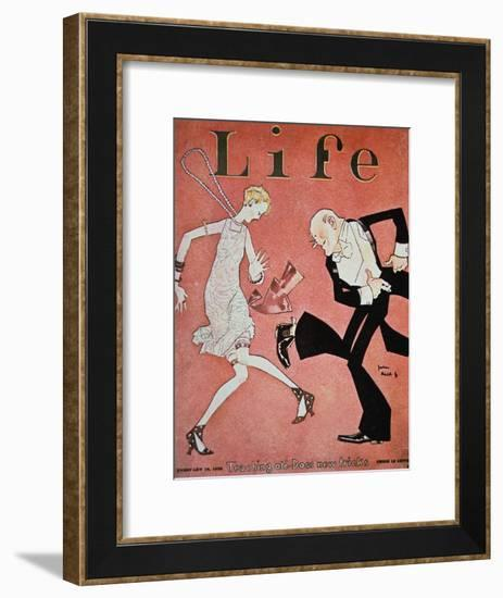Dancing the Charleston During the 'Roaring Twenties', Cover of Life Magazine, 18th February, 1928--Framed Giclee Print