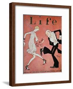Dancing the Charleston During the 'Roaring Twenties', Cover of Life Magazine, 18th February, 1928