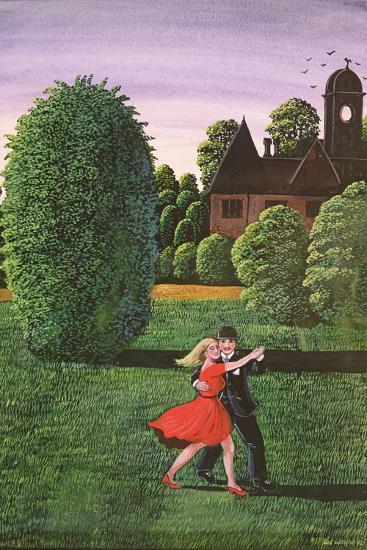 Dancing the Fandango, 1982-Liz Wright-Giclee Print