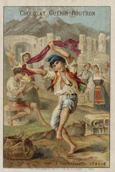 Dancing the Tarantella, Italy--Giclee Print