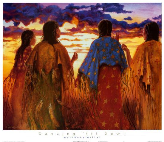 Dancing 'Til Dawn-Marianne Millar-Art Print