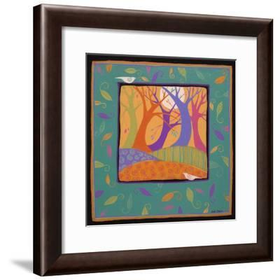 Dancing Trees-Sue Davis-Framed Giclee Print