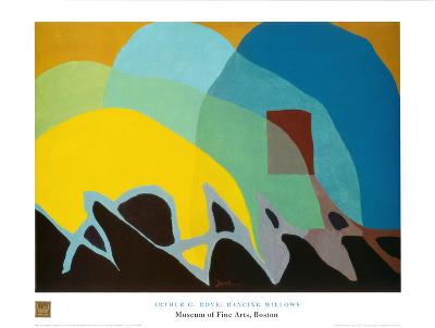 Dancing Willows-Arthur G^ Dove-Art Print