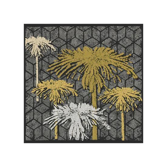 Dandelion on Tumbling Blocks (Yellow)-Susan Clickner-Giclee Print