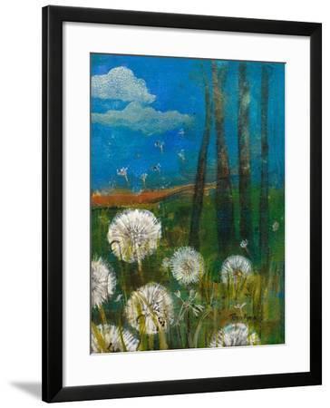 Dandelion Wishes-Robin Maria-Framed Art Print