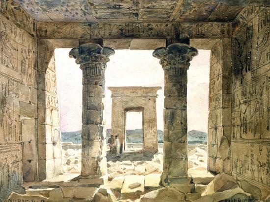 Dandouna, Egypt, 19th Century-Hector Horeau-Giclee Print