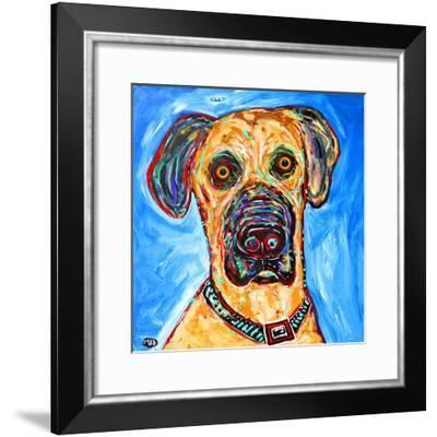 Dane 1-MADdogART-Framed Giclee Print