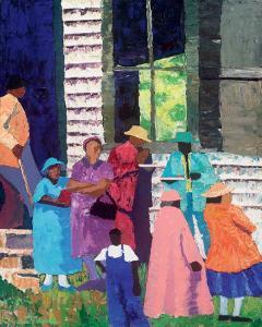 Going to Church by Dane Tilghman