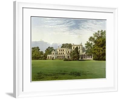 Danesfield House, Buckinghamshire, Home of the Scott-Murray Family, C1880-Benjamin Fawcett-Framed Giclee Print