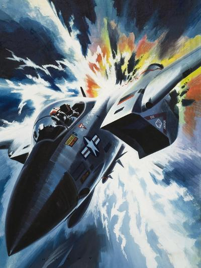 Danger from the Skies-Wilf Hardy-Giclee Print