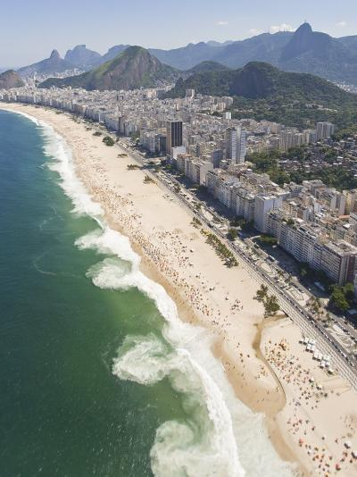 Dangerous and Deadly Rip Currents Along the Coast of Rio De Janeiro-Mike Theiss-Photographic Print