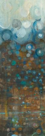 Blue and Bronze Dots IV by Danhui Nai
