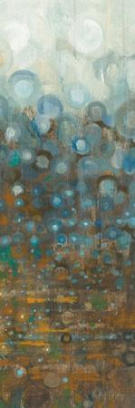 Blue and Bronze Dots VI by Danhui Nai