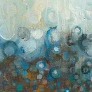 Blue and Bronze Dots VII by Danhui Nai