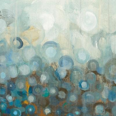 Blue and Bronze Dots VIII