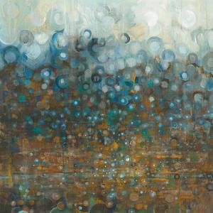Blue and Bronze Dots by Danhui Nai